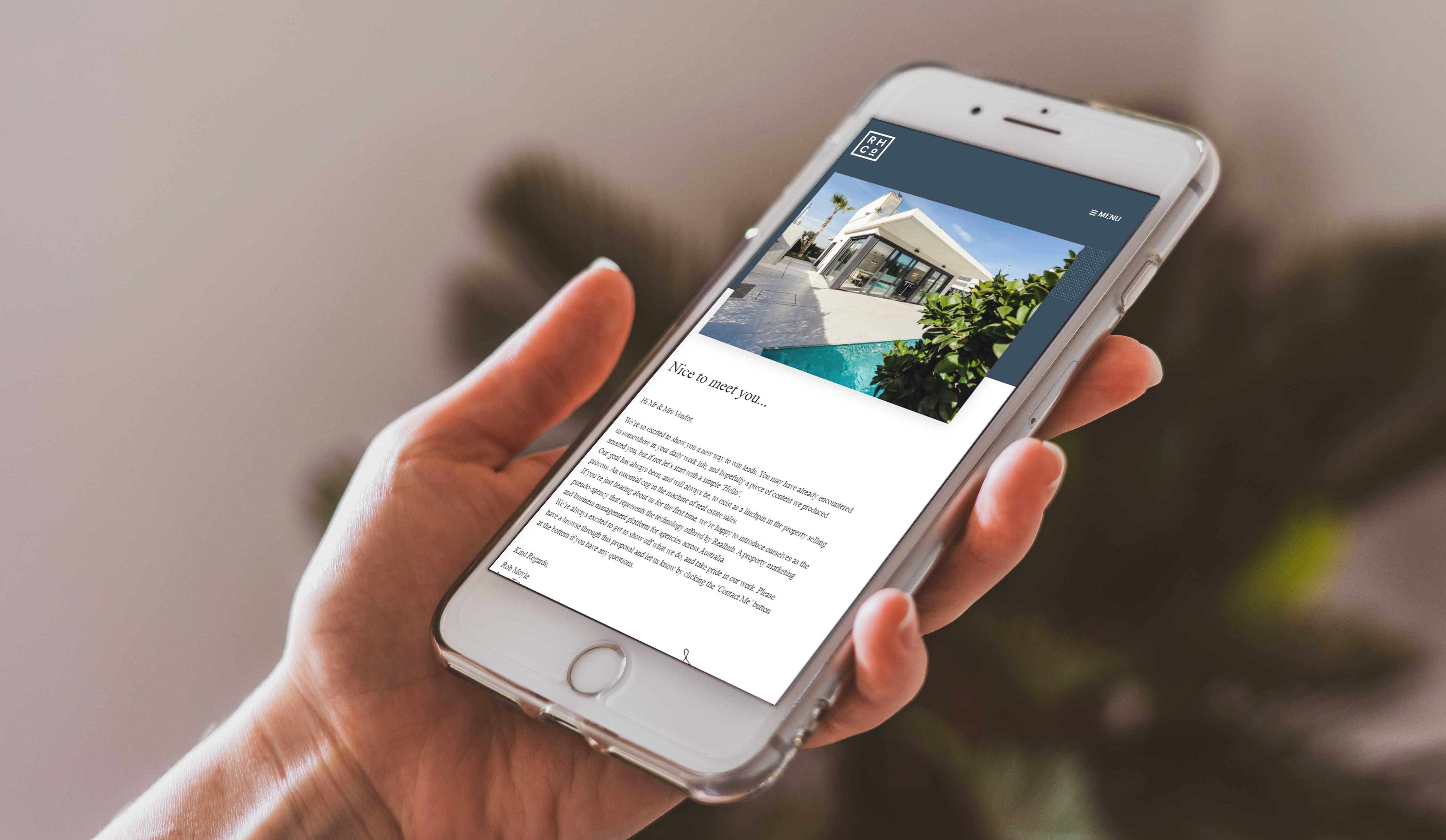 digital proposals for real estate